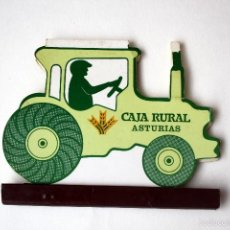 Cajas de Cerillas: CAJA DE CERILLAS/CARTERITA TROQUELADA CAJA RURAL ASTURIAS. Lote 56839366