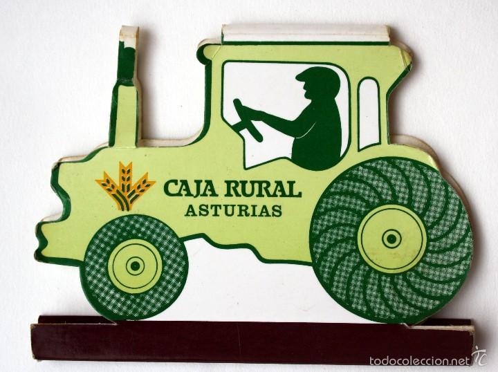 Cajas de Cerillas: Caja de cerillas/carterita TROQUELADA Caja Rural Asturias - Foto 2 - 56839366