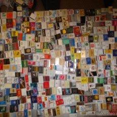 Cajas de Cerillas: LOTE DE 550 CAJAS DE CERILLAS DE TODO EL MUNDO - SIN USAR. Lote 57023016