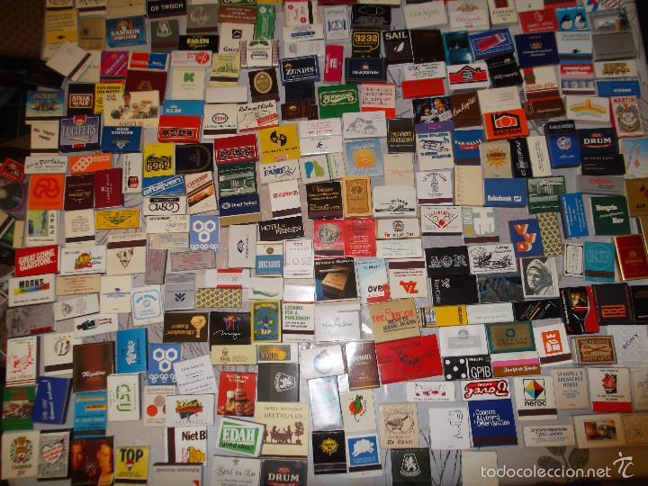 Cajas de Cerillas: Lote de 550 cajas de cerillas de todo el mundo - Sin usar - Foto 2 - 57023016
