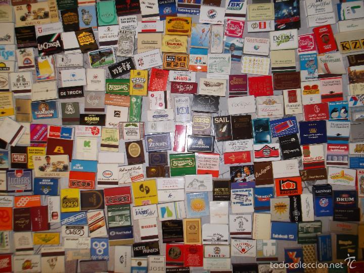Cajas de Cerillas: Lote de 550 cajas de cerillas de todo el mundo - Sin usar - Foto 3 - 57023016