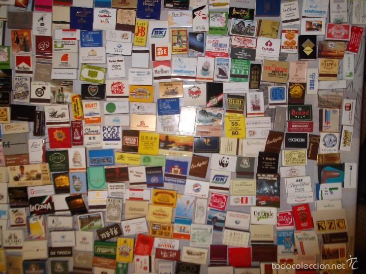 Cajas de Cerillas: Lote de 550 cajas de cerillas de todo el mundo - Sin usar - Foto 5 - 57023016
