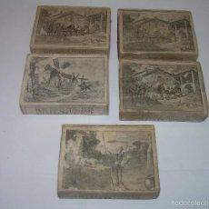 Cajas de Cerillas: CAJAS DE CERILLAS....CERVANTES.. Lote 57092645