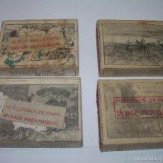 Cajas de Cerillas: CAJAS DE CERILLAS......CERVANTES. Lote 57092779