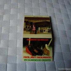 Cajas de Cerillas: CERILLAS PUBLICIDAD -MUEBLES NIZA - VER FOTOS - MIRAR TODOS MIS LOTES DE CERILLAS. Lote 57645014