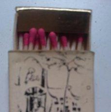 Cajas de Cerillas: CAJA CERILLAS CON PUBLICIDAD DE IN RESTAURANTE DE BARCELONA - AÑOS 80 --REFALYAEMCOVITI2. Lote 57651441