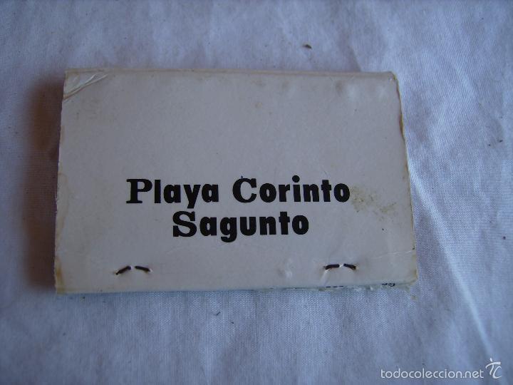 Cajas de Cerillas: **ANTIGUA CAJA DE CERILLAS PARA TU COLECCION DE--DISCO AQUARIUM (PLAYA CORINTO SAGUNTO)--CON PLANO** - Foto 2 - 57997258