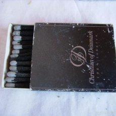 Boîtes d'Allumettes: **ANTIGUA CAJA DE CERILLAS PARA TU COLECCION DE----CHRISTIAN DENMARK--NO TE LA PIERDAS**. Lote 57997296