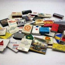 Cajas de Cerillas: LOTE DE 40 CAJAS DE CERILLAS VARIADAS. Lote 58097205