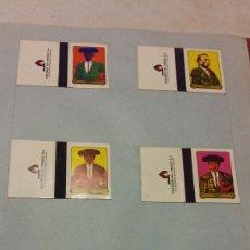 Cajas de Cerillas: (SEVILLA) 12 CAJAS CERILLAS - TOREROS - COMPLETA. Lote 58136305