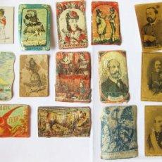 Cajas de Cerillas: LOTE DE CROMOS MILITARES Y DE GUERRAS CARLISTAS DE CAJAS DE CERILLAS. Lote 58682915