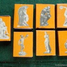 Cajas de Cerillas: LOTE 7 CAJAS DE CERÍLLLAS MISMA COLECCIÓN. Lote 59248235