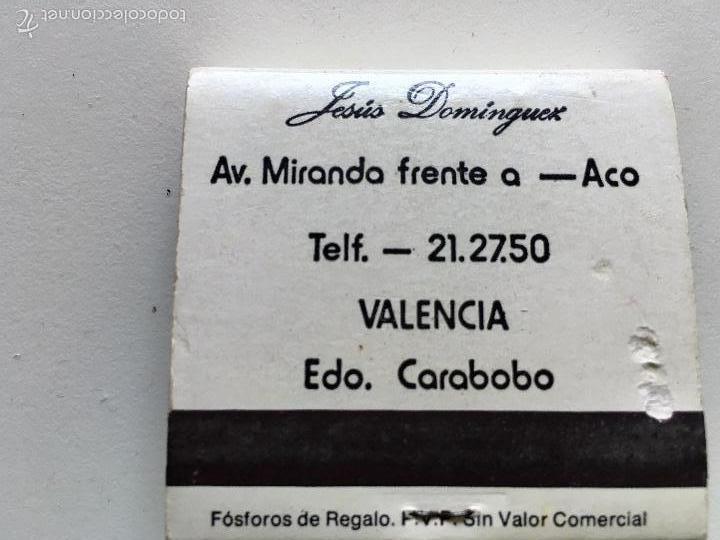 Cajas de Cerillas: caja de cerillas publicitarias EL GALEON BAR RESTAURANTE - Foto 2 - 60069635