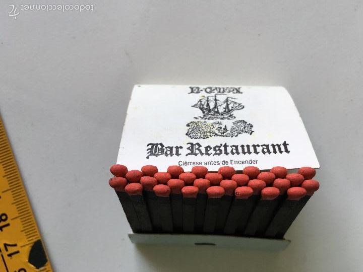 Cajas de Cerillas: caja de cerillas publicitarias EL GALEON BAR RESTAURANTE - Foto 3 - 60069635