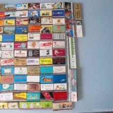 Cajas de Cerillas: LOTE DE 81 ANTIGUOS ESTUCHES DE CERILLAS. Lote 60542507
