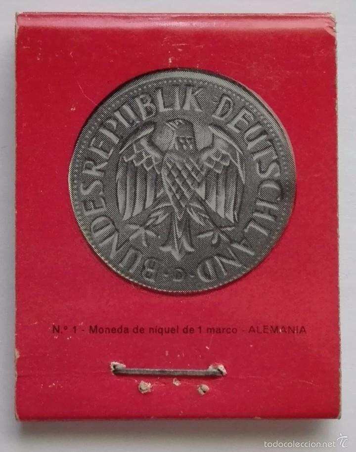 antigua caja de cerillas banco popular, monedas - Comprar Cajas de ...