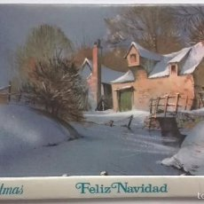Cajas de Cerillas: ORIGINAL CAJA DE CERILLAS/FELICITACION DE NAVIDAD, AÑO 1981. Lote 61006691