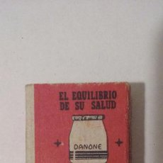 Cajas de Cerillas: CAJA DE CERILLAS - FOSFORERA ESPAÑOLA - PUBLICIDAD DANONE. Lote 61253891
