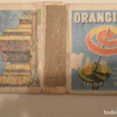 Cajas de Cerillas: CAJA CERILLAS CASTILLOS TRUJILLO PUBLICIDAD ORANGINA. Lote 61696680