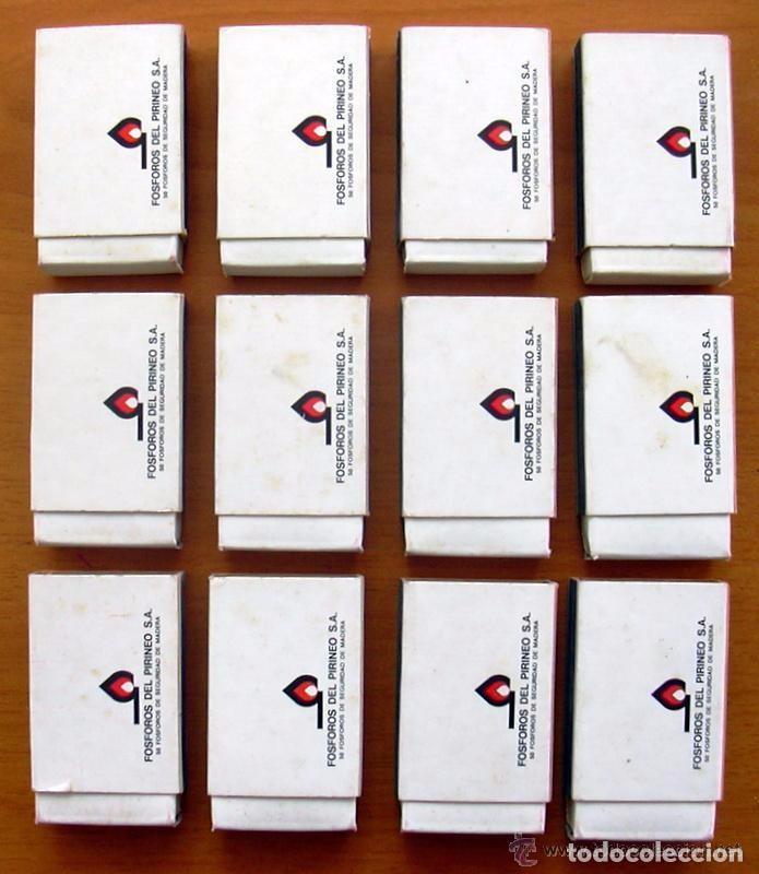 Cajas de Cerillas: Horóscopos - 12 cajas de cerillas - Colección completa - Fósforos del Pirineo - Foto 2 - 61746912