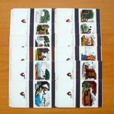 Cajas de Cerillas: CAJAS DE CERILLAS - ESCENAS CAMPESINAS - FOSFOROS DEL PIRINEO - COLECCIÓN COMPLETA. Lote 61797484