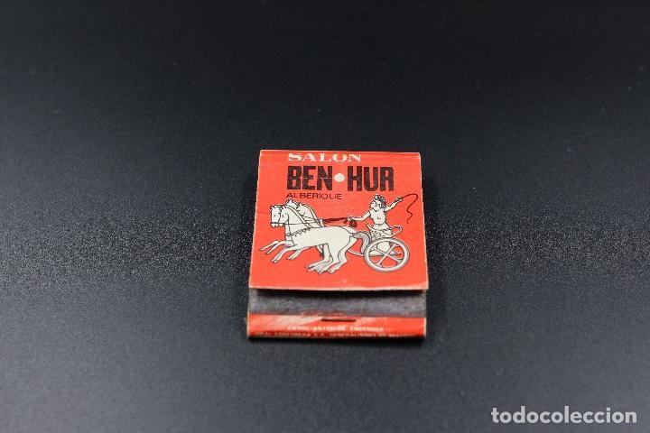 Cajas de Cerillas: Carterita de cerillas Salon Ben-Hur Alberique - Discoteca Imperio Alginet - Foto 2 - 62142800