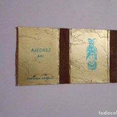 Cajas de Cerillas: CAJA DE CERILLAS SERIE AJEDREZ. ALFIL. FOSFORERA ESPAÑOLA. TDKP8. Lote 63303384