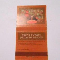 Cajas de Cerillas: CAJA DE CERILLAS FAUNA Y FLORA DE ARAGON. AMANITA MUSCARIA. TDKP8. Lote 63303676