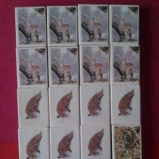 Cajas de Cerillas: 20 CAJAS CERILLAS COLECCION CAZA MAYOR CAZA MENOR. FOSFORERA ESPAÑOLA. 1977. MUY RARAS. Lote 63884543