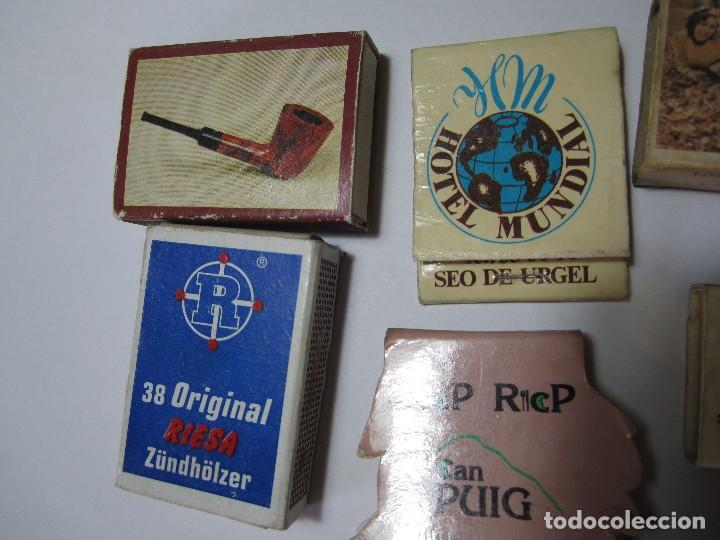 Cajas de Cerillas: lote 8 cajas de cerillas - Foto 3 - 64764075