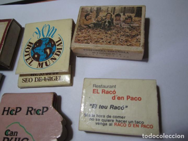 Cajas de Cerillas: lote 8 cajas de cerillas - Foto 4 - 64764075