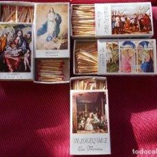 Cajas de Cerillas: LOTE DE 5 CAJAS DE CERILLAS GRANDES DE MUSEO DEL PRADO. F.DEL PIRINEO. Lote 67219845