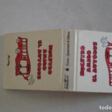 Cajas de Cerillas: CARTERITA DE CERILLAS - AYUNTAMIENTO DE VALENCIA - VALENCIA - NUEVA SIN USAR . Lote 67512401