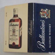 Cajas de Cerillas: CARTERA DE CERILLAS - BALLANTINES SCOTCH WHISKY - NUEVA SIN USAR. Lote 67515957