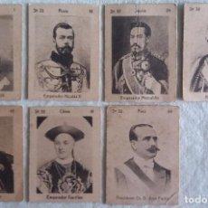 Cajas de Cerillas: LOTE DE 7 FOTOTIPIAS O CROMOS DE CAJAS CERILLAS. SERIE 32.. Lote 67623325