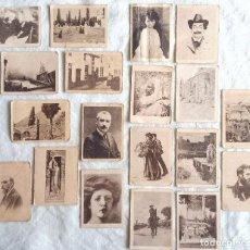 Cajas de Cerillas: LOTE DE 19 FOTOTIPIAS O CROMOS DE CAJAS CERILLAS. SERIE 30. PINTURAS. Lote 67624781
