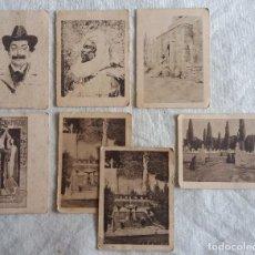 Cajas de Cerillas: LOTE DE 9 FOTOTIPIAS CAJAS DE CERILLAS. SERIE 30. Lote 67625593