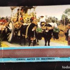Cajas de Cerillas: CAJA DE CERILLAS DEL ROCÍO, CON PUBLICIDAD MOBYLETTE GAC. Lote 69097445