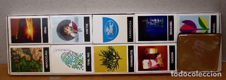 Cajas de Cerillas: ESTUCHE 9 CAJAS DE CERILLAS MEDICAMENTOS FARMABION - Foto 2 - 69402693
