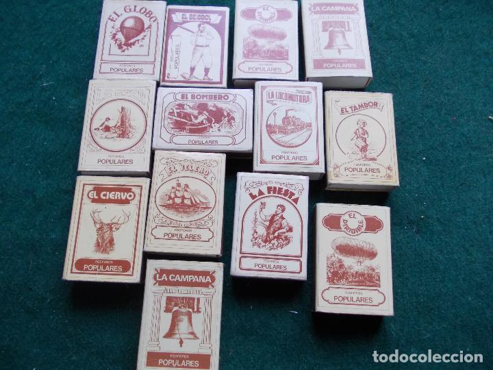 LOTE CAJAS CERILLAS (Coleccionismo - Objetos para Fumar - Cajas de Cerillas)