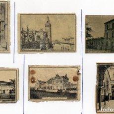 Cajas de Cerillas: PANELES DE CAJAS DE CERILLAS ESPAÑA SIGLO XIX . Lote 71586067
