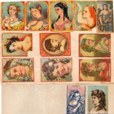Cajas de Cerillas: PANELES DE CAJAS DE CERILLAS-FOTOTIPIAS SIGLO XIX . Lote 72663531