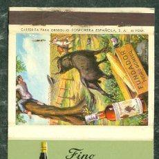 Cajas de Cerillas: CAJA CERILLAS FINO LA INA JEREZ PEDRO DOMECQ. Lote 76170379