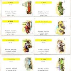 Cajas de Cerillas: CAJAS DE CERILLAS FOSFORERA ESPAÑOLA (FESA) COCHES ANTIGUOS. Lote 77612669