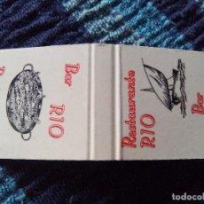 Cajas de Cerillas: CARTERITA CERILLAS BAR RIO. Lote 80576206