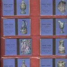Cajas de Cerillas: 19 CAJAS DE CERILLAS ABIERTAS DE CERAMICA FRANCESA FABRICADAS POR FOSFORERA ESPAÑOLA S.A.. Lote 80804899