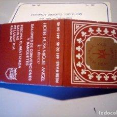 Cajas de Cerillas: CARTERITA CERILLAS HOTELES HUSA. Lote 80809607
