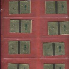 Cajas de Cerillas: 32 CAJAS DE CERILLAS ABIERTAS DE DE PIEZAS DE AJEDREZ FABRICADAS POR FOSFORERA ESPAÑOLA S.A.. Lote 80818251