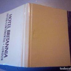 Cajas de Cerillas: CARTERITA CERILLAS HOTEL BRITANNIA. Lote 81096656