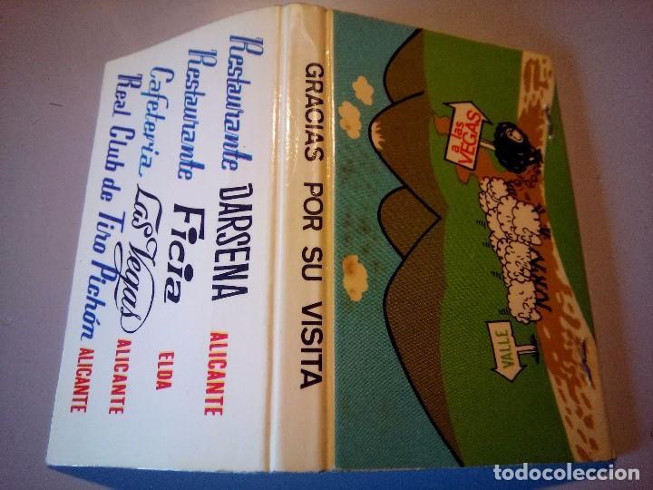 CARTERITA CERILLAS CAFETERIA LAS VEGAS (Coleccionismo - Objetos para Fumar - Cajas de Cerillas)